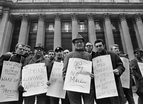who remembers the nationwide postal wildcat strike of 1970 and why