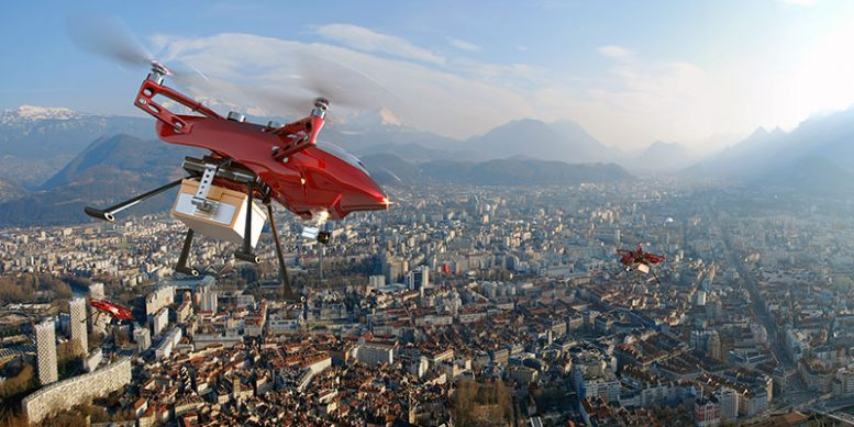 Delivery Drones Coming To The Sky Near You