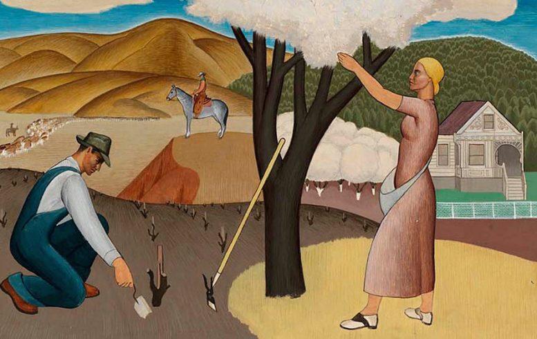 Ukiah mural