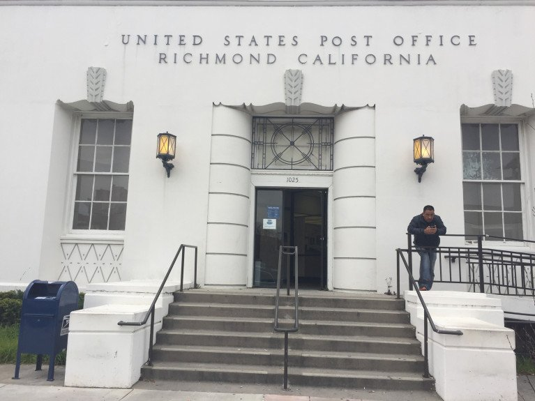 Postal Service announces plan to sell historic Richmond CA post