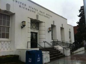 Congressman wants fair warning of closure of historic Richmond CA post office