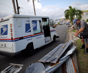 USPS workers have emerged as heroes in hurricane-ravaged Puerto Rico