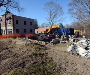 Former Alplaus, NY, post office torn down
