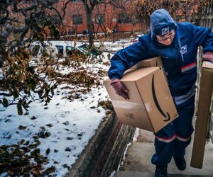 Postal Service Workers Are Shouldering the Burden for Amazon