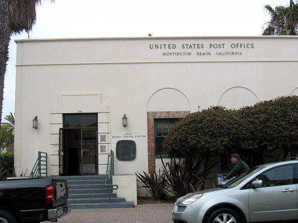 Eureka The Postal Service Finds Gold In California Save The Post Office