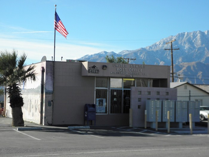 Post Office Palm Springs A Flashback Palm Springs Trip