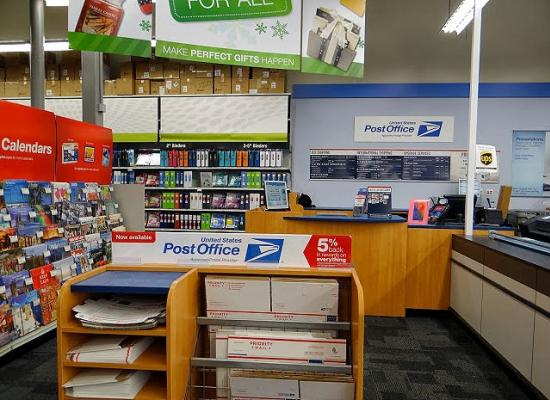 Postal service counters replace ups services at 82 staples going postal has the scoop on the postal services new initiative to put post offices inside of staples a new partnership between usps and staples inc malvernweather Images