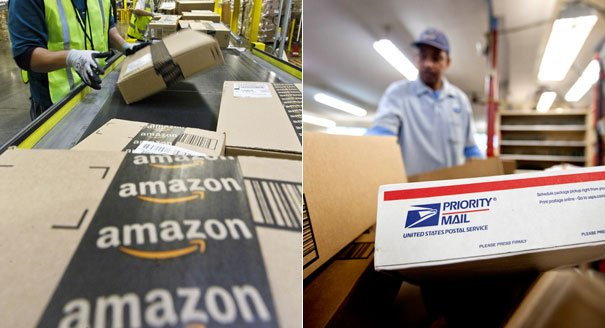"We Deliver for Amazon"": The Postal Service's New Priority 